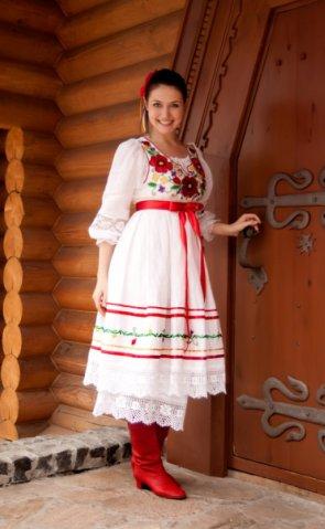 Вышивка украинская свадебная