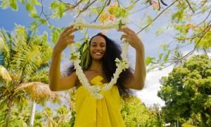 Фестиваль цветов на Таити