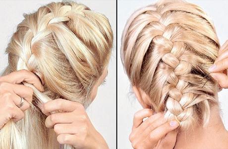 Прическа невесты - коса