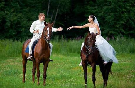 Как провести свадебную прогулку