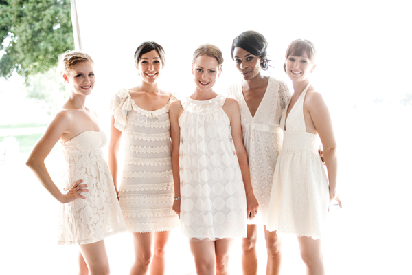 Белое платье для свидетельницы