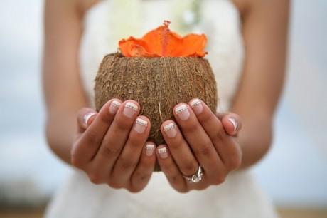 Кокосовый коктейль - угощения для свадьбы