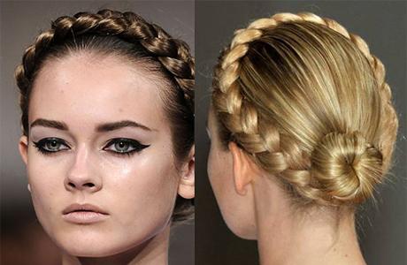 Свадебная прическа: Королевская коса