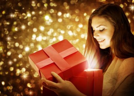 Красный подарок из Китая