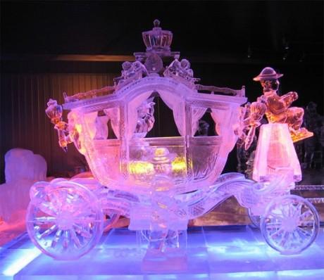 Ледяные скульптуры на свадьбу