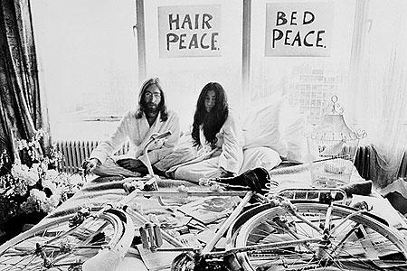 Лежачая демонстрация борьбы за мир