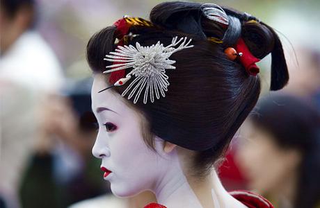 Макияж невесты по-японски
