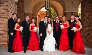 Наряд свидетельницы на осенней свадьбе