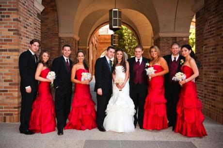 Наряд свидетельницы для осенней свадьбы