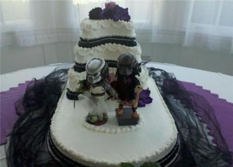 Украшения свадебных тортов