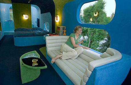 Отель «Airstream», Франция, предгорье Пиренеев