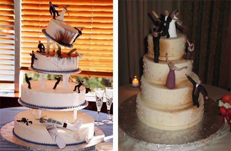 Перестрелка на свадебном торте