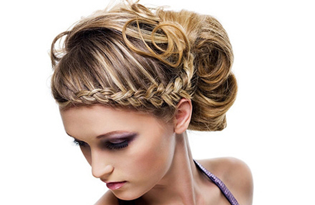 Прическа на свадьбу: коса