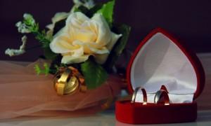 С бархатной свадьбой