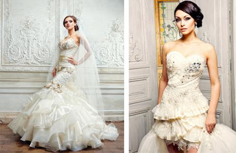 Сексуальное свадебное платье для невесты