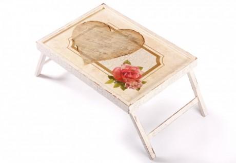Столик для завтрака - свадебный подарок