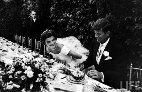 Свадьба Джона и Жаклин Кеннеди