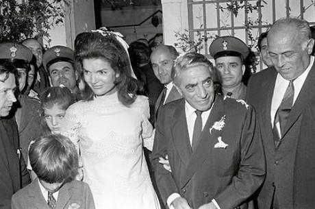 Жаклин Кеннеди вышла замуж за Аристотеля Онассиса