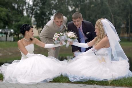 Свадьба близняшек