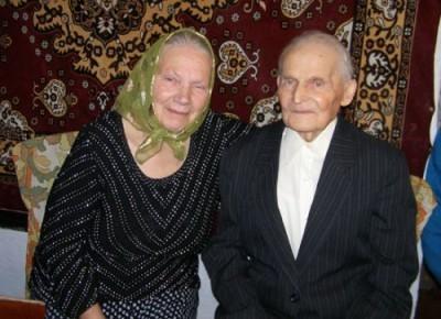 Свадьба в Винницкой области - жениху 99 лет