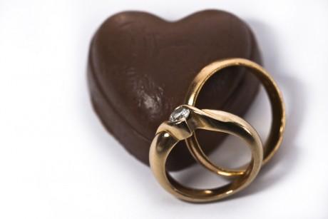 Свадьба в шоколаде - кольца