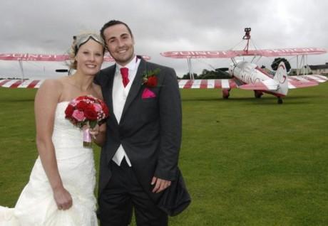 Свадьба в воздухе