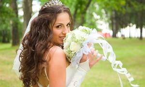 Свадебная прическа в стиле Сары Джессики Паркер