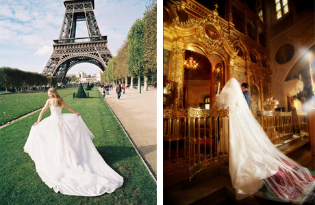 Свадебная церемония во Франции
