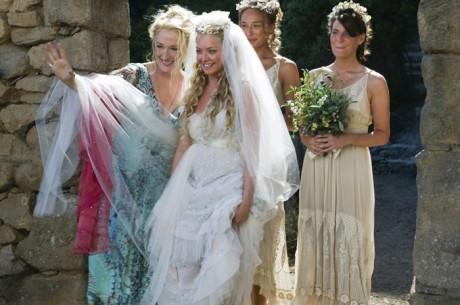 Свадебное платье из «Mamma Mia!»