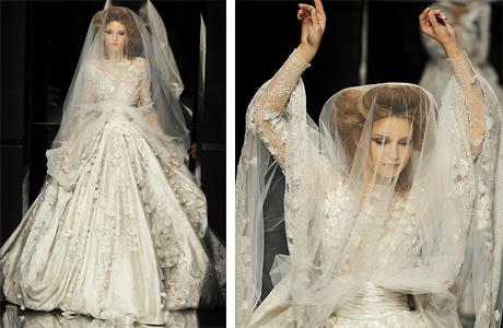 Свадебное платье от Elie Saab