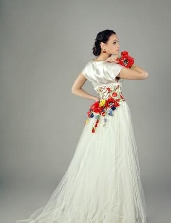 Свадебные платья от украинского дизайнера Оксаны Полонец