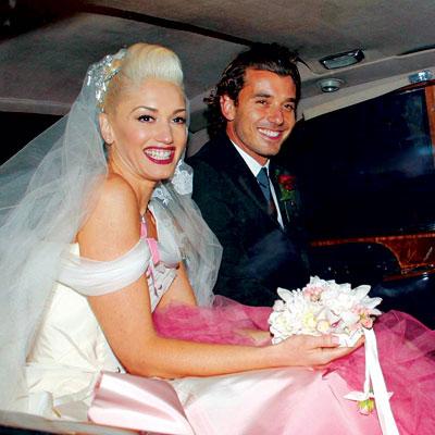 Гвен Стефани свадебный букет