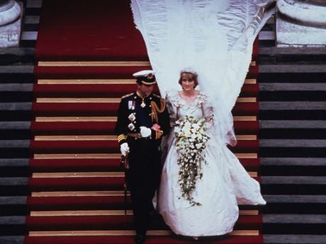 Принцесса Диана и свадебный букет