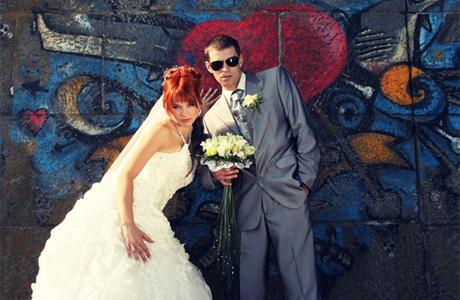 Свадебный макияж и букет невесты