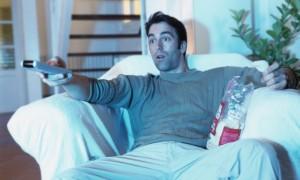 Телевизор - друг мужчины