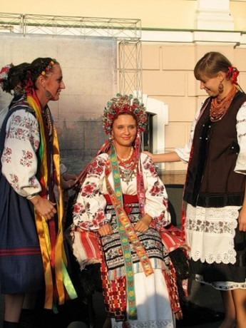 Украинский свадебный наряд до XIX столетия