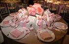 Украшение свадебного стола