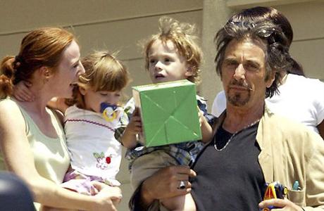 Зато Аль Пачино – счастливый отец