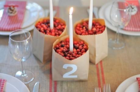Зимний свадебный стол