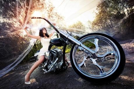 Байкерская свадьба: на колесах