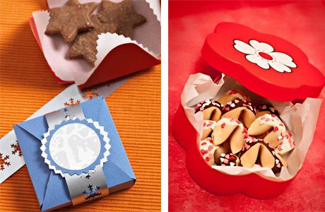 Бонбоньерка с печеньем