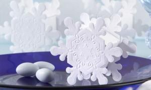Бонбоньерки для зимней свадьбы
