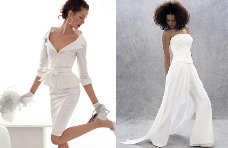 Брюки или юбка на свадьбу