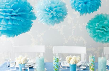 Бумажные шары на свадьбу