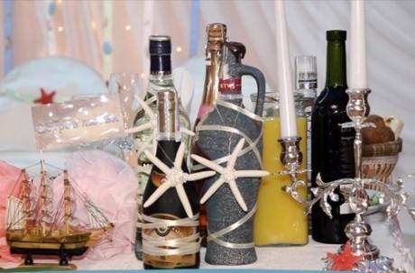 Бутылки для свадьбы