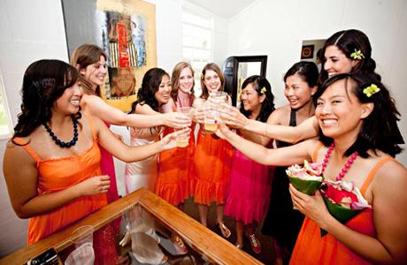 Добрый тост невесте от подружек
