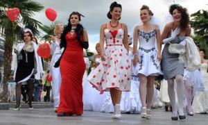 Форсаж невест прошел в стиле ретро