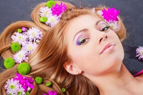 Цветы для прически невесты