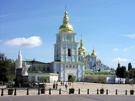 Киевский Михайловский Златоверхий монастырь