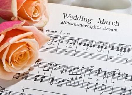 Марш Мендельсона для свадьбы